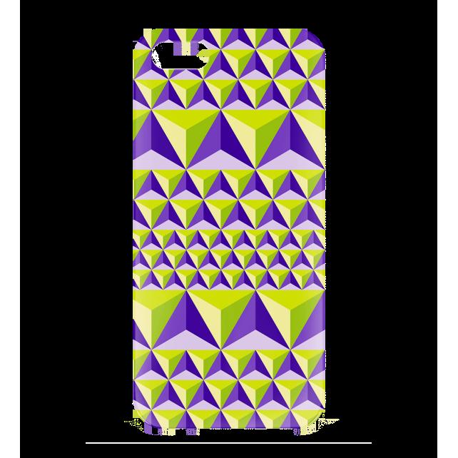 Cover per iPhone 5, 5S, SE - I Cover 5 Diamonds Effect