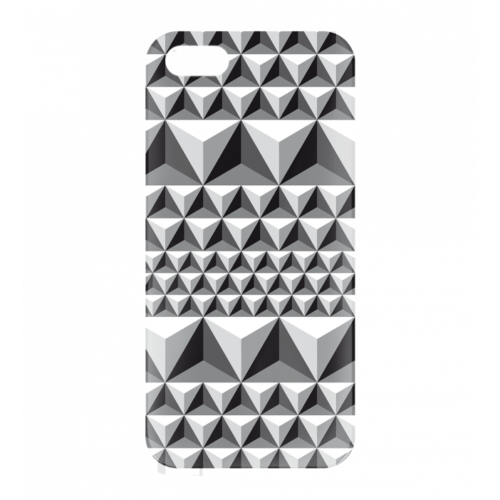 I Cover 5 Diamonds Effect - Coque pour iPhone 5, 5S, SE Nero