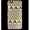 Schale für iPhone 6, 6S - I Cover 6 Diamonds Effect Schwarz