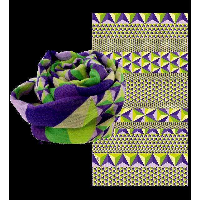 Balade En Hiver - Foulard Purple