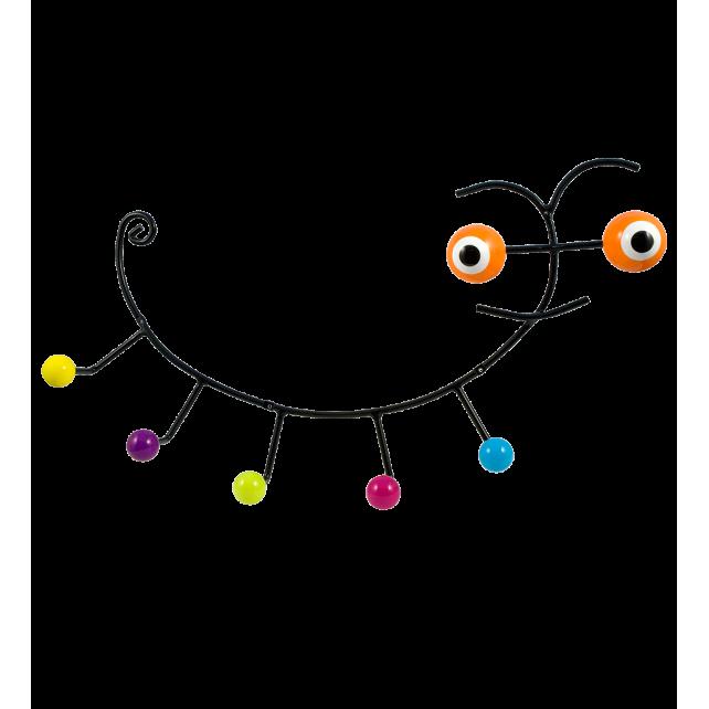 Wandkleiderhaken 60's - Caterpillar