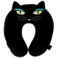 Cat My Neck - Coussin de voyage Black Cat