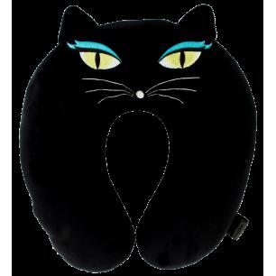 Coussin de voyage - Cat my neck - Black Cat