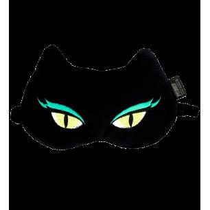Masque de nuit / sommeil - Cat my eyes - Black Cat