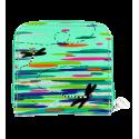 Piccolo portafoglio - Voyage Coquelicots