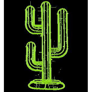 Porte capsules / dosettes Nespresso - Cactus - Vert