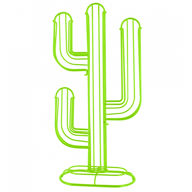 Cactus - Porte capsules Nespresso Verde