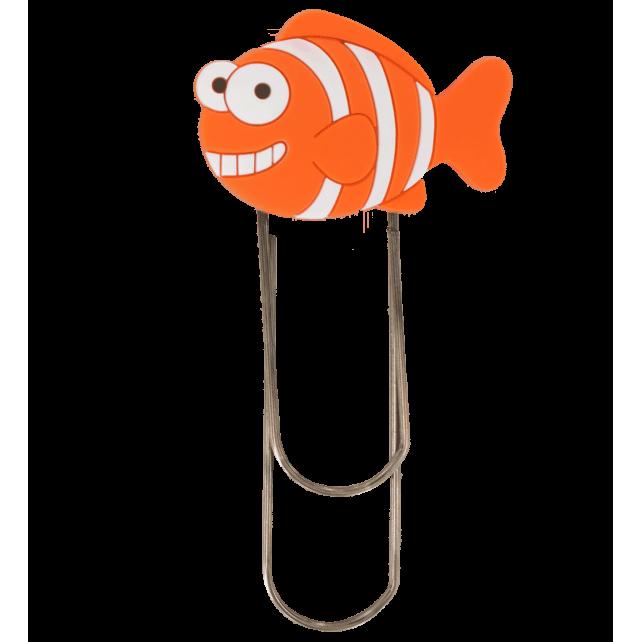 Segnapagina modello grande - Ani-bigmark Pesce