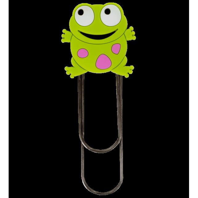 Large bookmark - Ani-bigmark Frog