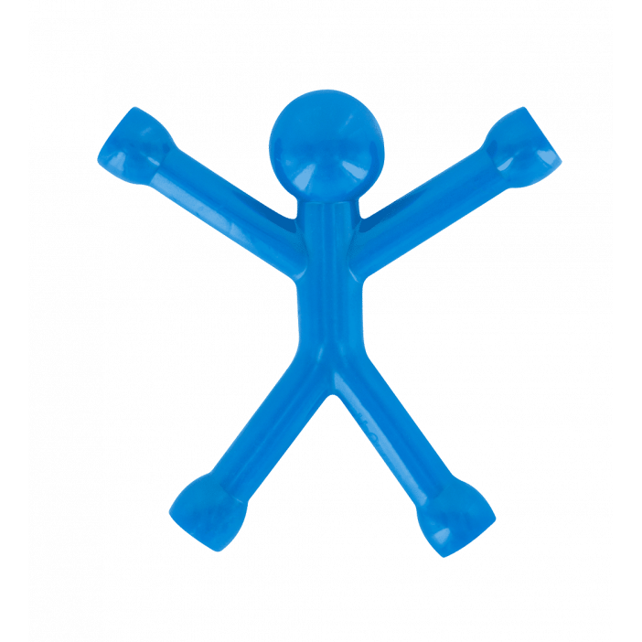 Mini Qman - Aimant opaque Blu