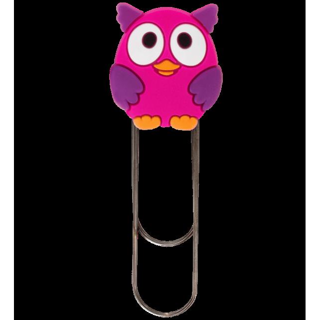 Large bookmark - Ani-bigmark Owl