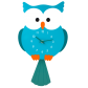 Dancing Owl - Horloge