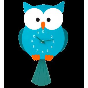 Orologio cameretta - Dancing Clock - Gufo