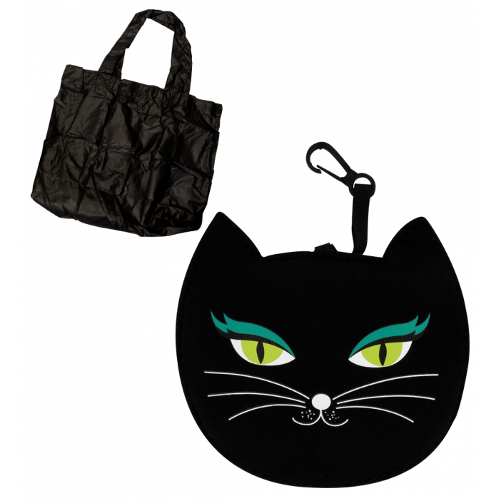 Cat My Shopping - Sac de course Black Cat