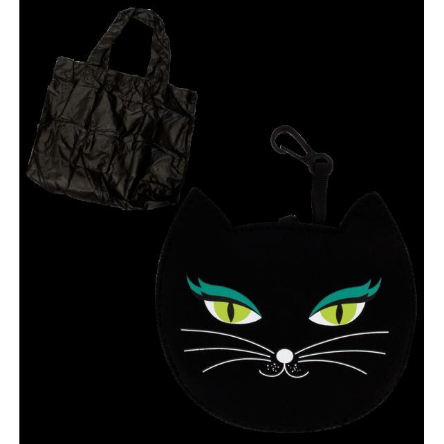 Cat My Shopping - Sac de course Black Cat