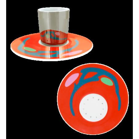 Cup and saucer - Café Allongé