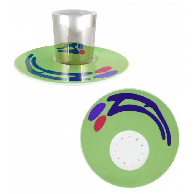 Tasse und Untertasse - Café Allongé