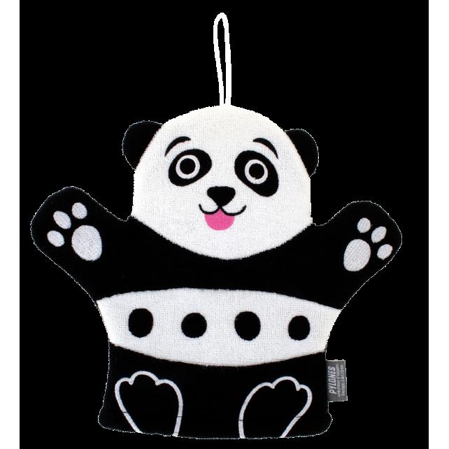 Hello - Gant de toilette Panda