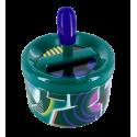 Cendrier poussoir - Pousse Pousse Orchid Blue