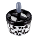 Cendrier poussoir - Pousse Pousse Silver Spots