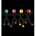 O'Key - Accroche Clefs Mehrfarbig