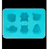 Ani Cube - Moule à glaçons Bleu