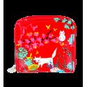Piccolo portafoglio - Voyage Blue Flower