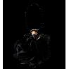 Soapinette - Fleur de douche Noir