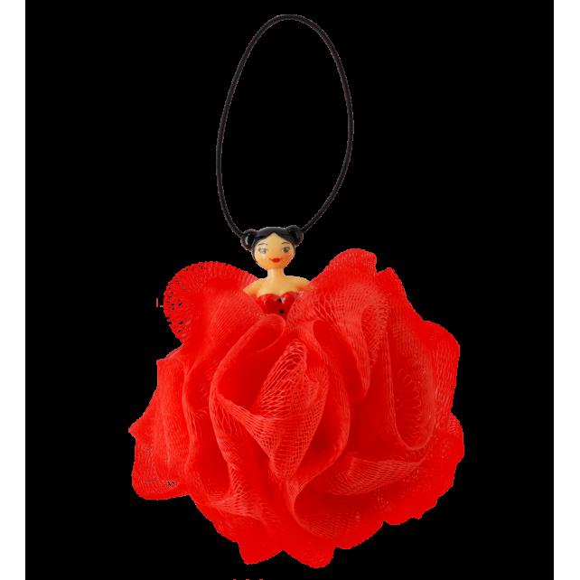 Fleur de douche - Soapinette Rouge