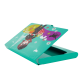 Business card holder - Busy Orchid