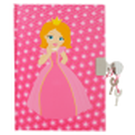 Princesse - carnet avec cadenas