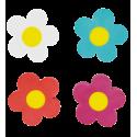 4er-Set Radiergummis - Flower Rub