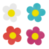 Set di 4 gomme - Flower Rub
