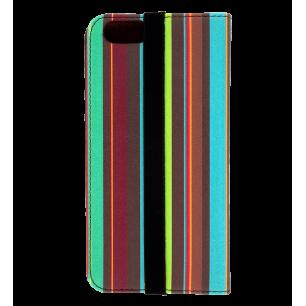 Custodia a portafoglio per iPhone 6, 6S - Iwallet - Bayadere