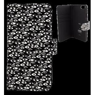 Custodia a portafoglio per iPhone 6, 6S - Iwallet - Eye