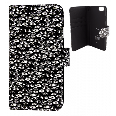 Flap cover for iPhone 6, 6S - Iwallet - Eye