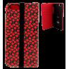 Iwallet - Coque à clapet pour iPhone 6, 6S Cherry