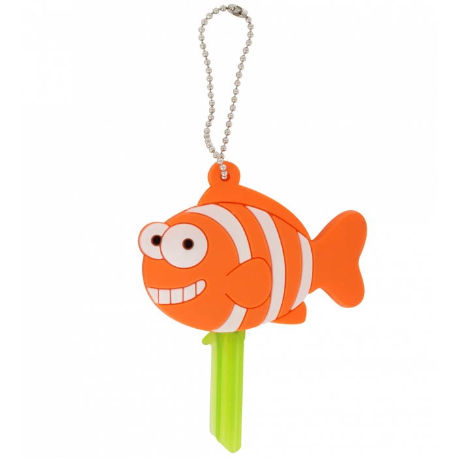 Anicover - Protège clés Fish