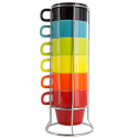 Cappuccinotassenturm - Café Cino