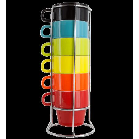 Cappuci - Torre di tazze