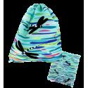 Swimming bag - Swim DS Blue Flower