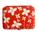 Zigarettenetui - Cigarette case Orchid