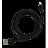 Usb Xl - Cable pour Iphone Noir