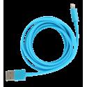 Câble pour Iphone - Usb Xl Violet