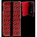 Coque à clapet pour iPhone 6, 6S, 7 - Iwallet 2 Black Board