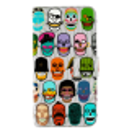 Iwallet - Coque à clapet pour iPhone 6, 6S Skull 3