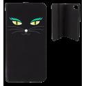 Flap cover/wallet case for iPhone 6, 6S, 7 - Iwallet 2 Vitrail Bleu