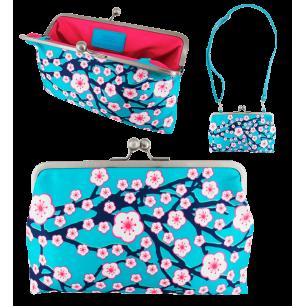 Clip Wide 2 - Clasp clutch bag