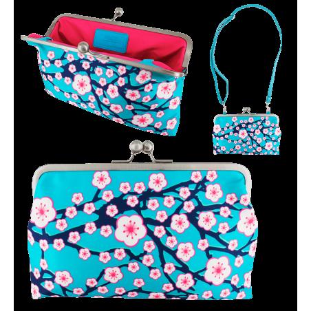 Clasp clutch bag - Clip Wide