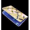Porta assegni - Voyage Blue Flower